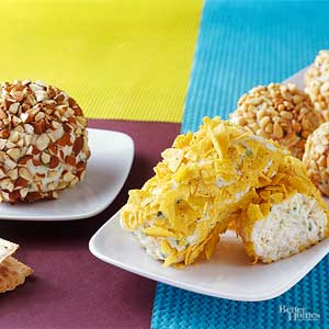 Dilled Onion Cheese Ball and variations
