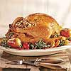 New England Roast Turkey with Cranberry-Pecan Stuffing