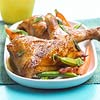 Chicken with Asparagus & Peas