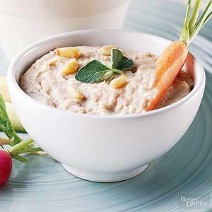 Pine Nut-White Bean Dip