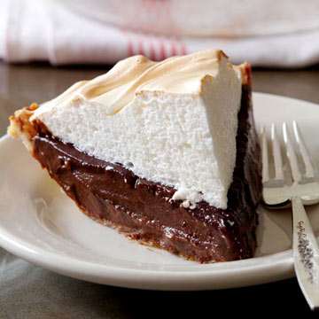Chocolate Meringue Pie Step-by-Step
