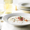Clam Chowder with Parmigiano-Reggiano Cheese