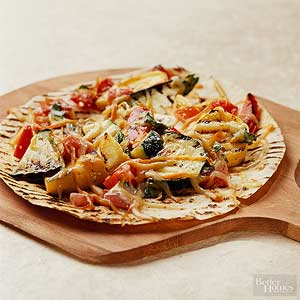 Vegetable Pizzas