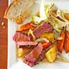 Traditional Irish Food: Corned Beef & Cabbage