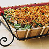 Fresh Green Bean and Mushroom Casserole