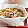 Spinach, Chicken & Wild Rice Soup