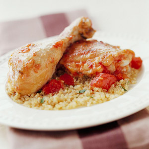 Zesty Ginger-Tomato Chicken