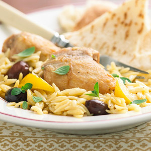 Kalamata Lemon Chicken
