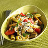 Summer Chicken and Mushroom Pasta