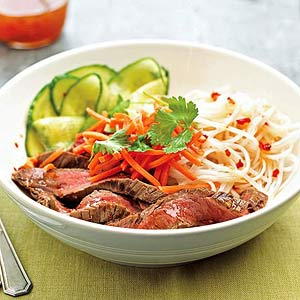 Spicy Beef and Noodle Salad