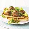 Meatballs on Ciabatta