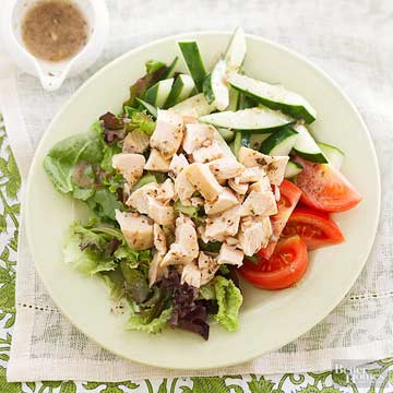 Lunch Salads with Chicken