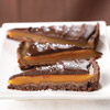 Bittersweet Chocolate Caramel Tart