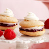 Mini Raspberry & White Chocolate Whoopie Pies