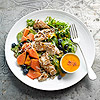 Papaya & Coconut Chicken Salad
