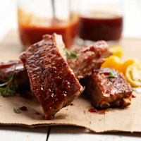 St. Louis-Style Ribs with Two Sauces