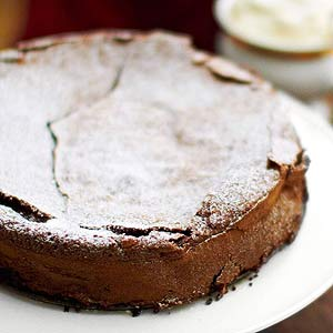 Flourless Chocolate Lime Cake