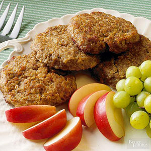 Turkey and Apple Breakfast Sausage