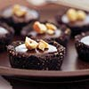 Chocolate-Crusted Chocolate Tarts