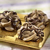 Mocha Meringue Kisses