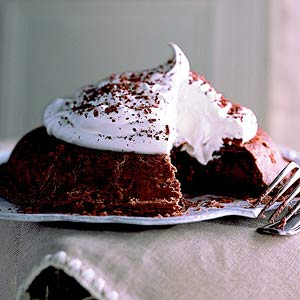 Dropped Chocolate Pie