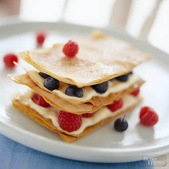 Berry-Lemon Napoleon