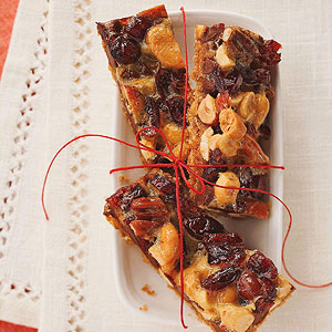 Cran Crackle Bars