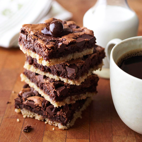 Blissful Brownie Recipes BHGcom - Better homes and gardens brownie recipe