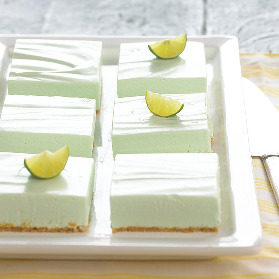 avoid tooth decay with this low sugar key lime cheesecake dessert