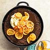Nancy Wall Hopkins' Chocolate Gingerbread with Simmered Oranges