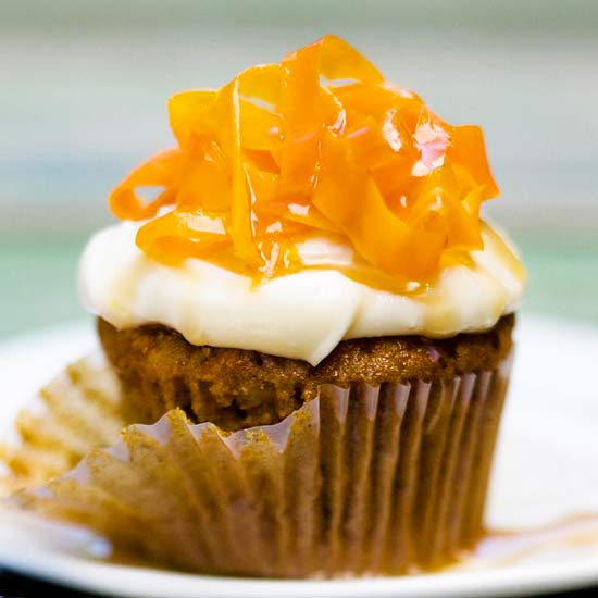 Easy recipe for carrot cupcakes
