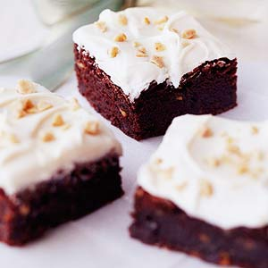 Toffee-Coffee Brownies