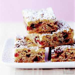 Cranberry-Date Bars