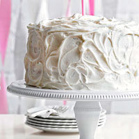 Classic Vanilla Cake with Two Frostings