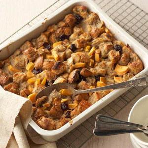 Spice Tea Breakfast Bread Pudding