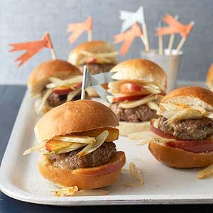 Stuffed Sausage Sliders