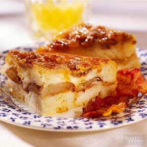 Caramel Apple Breakfast Pudding