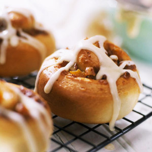 Maple-Nut Rolls