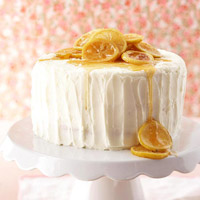 Triple-Layer Lemon Wedding Cake