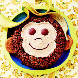 Peanut-Butter Monkey Cake