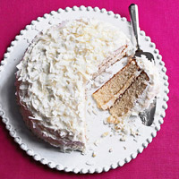 Buttermilk and Coconut Cake