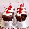 Fudge Brownie Surprise Cupcakes