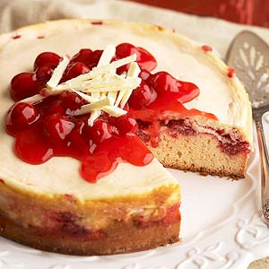Cherry Cheesecake Kuchen