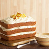 Carrot Cake with Honey-Orange Frosting