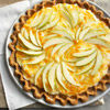 Pretty Pear Gingerbread Tart