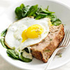 Greens, Eggs & Ham Loaf