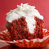 Red Velvet Cupcakes with White Chocolate Filling
