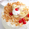 Banana Split Cake Topper