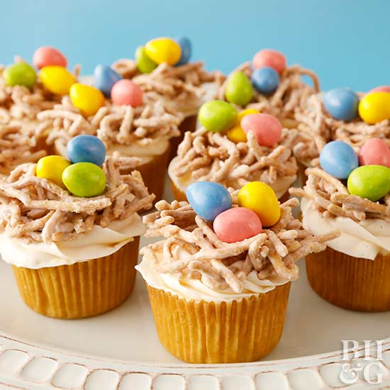 Totally Adorable Easter Cupcakes