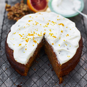 Easy Orange-Carrot Cake